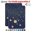 Тонкий чехол Walkers для нового Amazon Kindle Paperwhite 4 Ereader защитный чехол для 2018 Paperwhite электронная книга + пленка + ручка