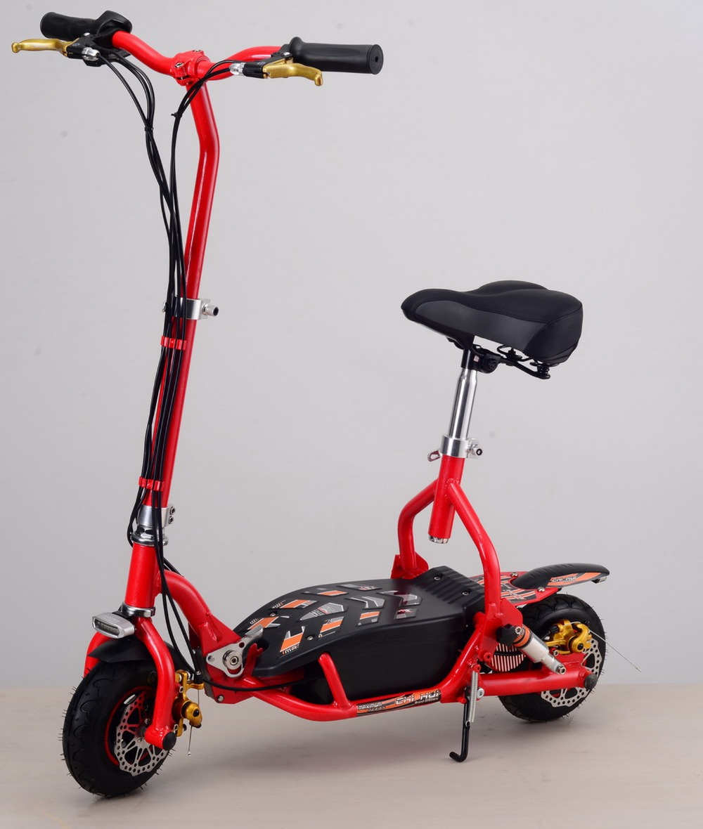 Two-wheel Kids Scooter 300W 24V Foldable Electric Scooter Adults Sports&Leisure Scooters with Front&Rear LED Lights economic multifunction 60v 500w three wheel electric scooter handicapped e scooter with powerful motor
