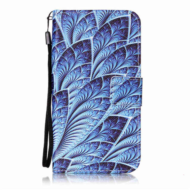 S3 PU Leather Wallet Cases For SAMSUNG Galaxy S3Neo VE GT-I9301I S3 Neo+ GT-I9300I Strap Movie Stand Art Covers TPU Full Housing