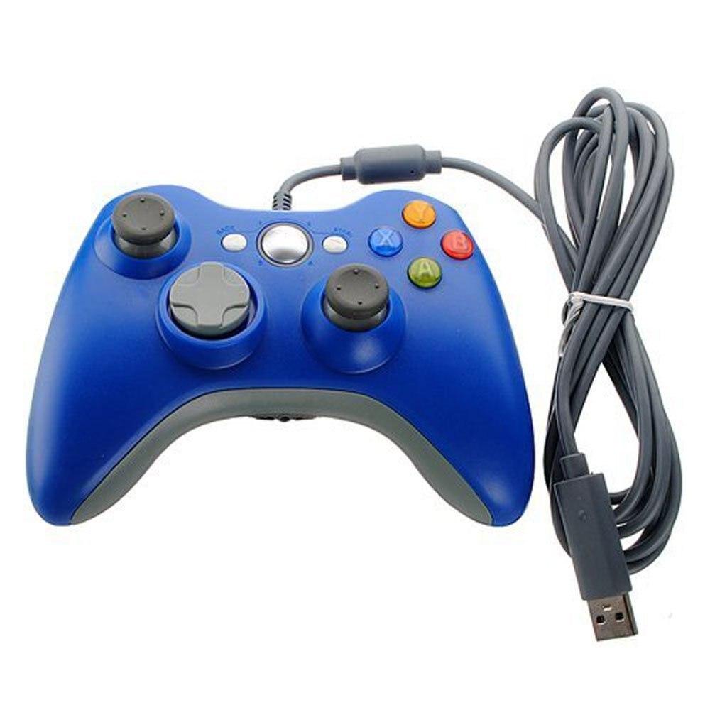 2018 nouveau 1 pcs USB Filaire Joypad Gamepad Controller Pour Xbox 360 Joystick Pour Microsoft Officiel PC pour Windows7/8/10