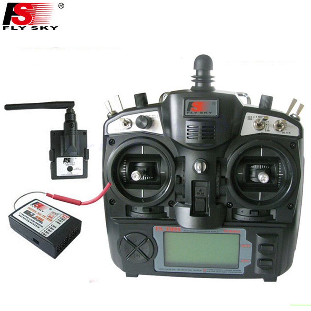 Flysky FS-TH9X TH9XB 2.4G 9ch 9 channels system FS remtoe control rc Transmitter & Receiver Combo Mode 1 Mode 2 for choose цена