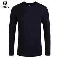 T Shirt Men 2016 New Fashion Brand Clothing Natural Cotton Long Sleeve Tops Tees O Neck