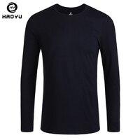 T Shirt Men 2016 New Fashion Brand Clothing Natural Cotton Long Sleeve Tops Tees O Neck