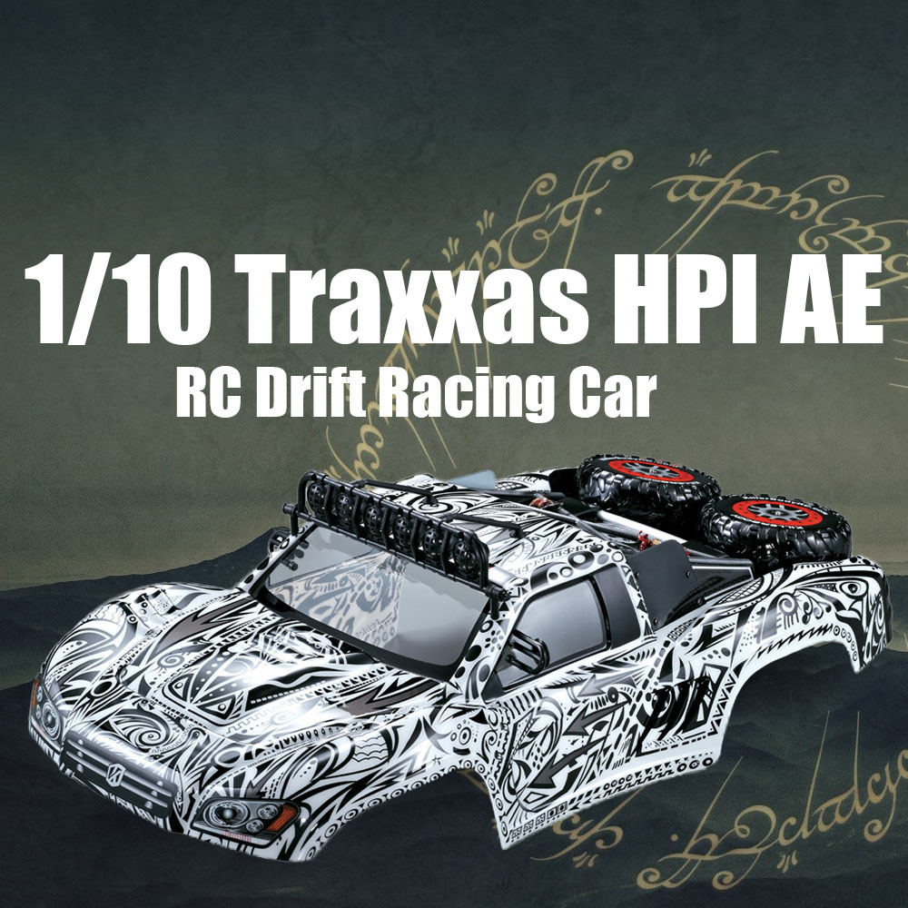 RC Car DIY Parts 48062 327mm Short Course Truck Finished Body Shell Frame for 1/10 Traxxas HPI AE RC Drift Racing Car DIY 1 10 scale rc short course truck tire