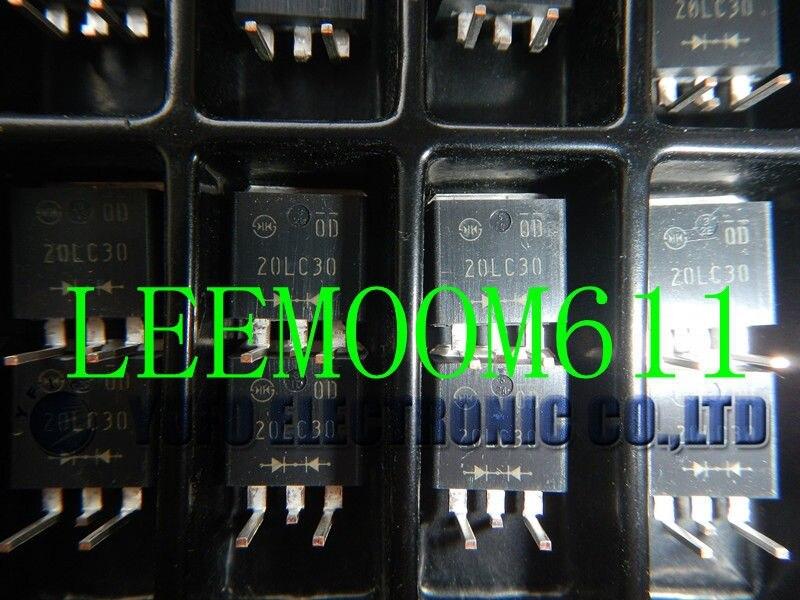 Бесплатная доставка один лот 10 шт. 20LC30/20LC30 диода ic Новый (B34)