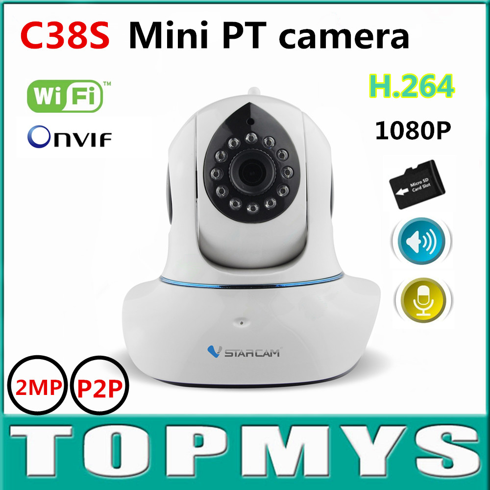Vstarcam Mini PT Box IP Camera C38S 1080P HD WIFI CCTV camera IR 10M day nigh vision security IP camera  support H.264 Dome cam бутсы nike jr mercurial vortex iii njr fg 921490 407