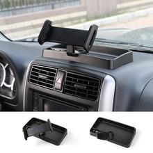 Универсальный авто мобильного телефона стенд ipad держатель телефона на 360 градусов с ABS коробка для хранения GPS для Suzuki Jimny