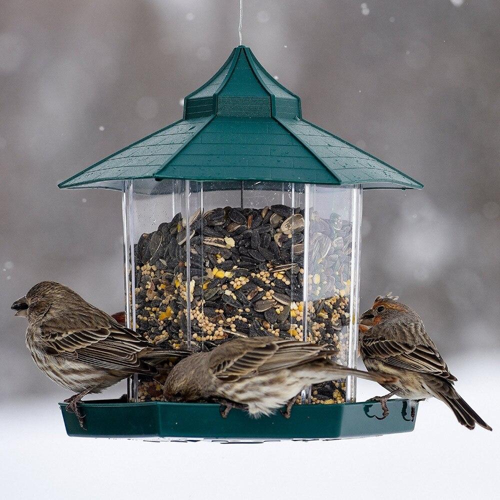 Hanging Gazebo Bird Feeder Perfect for Garden Decoration