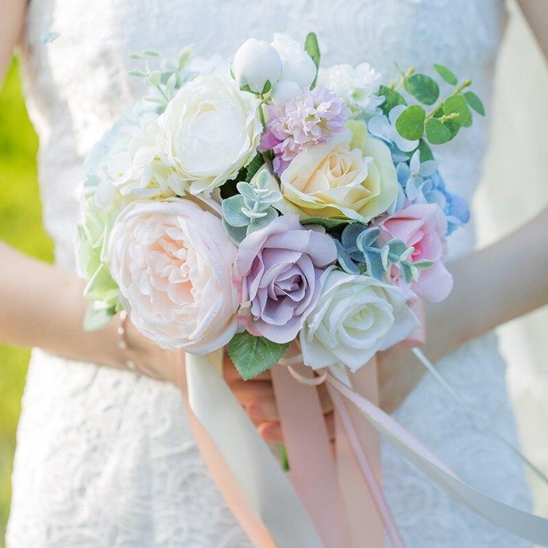 Achetez en gros fleurs de mariage bouquet de mari e en ligne des grossistes - Vente a terme avec bouquet ...