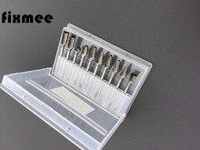 10 шт., набор сверл из вольфрамовой стали