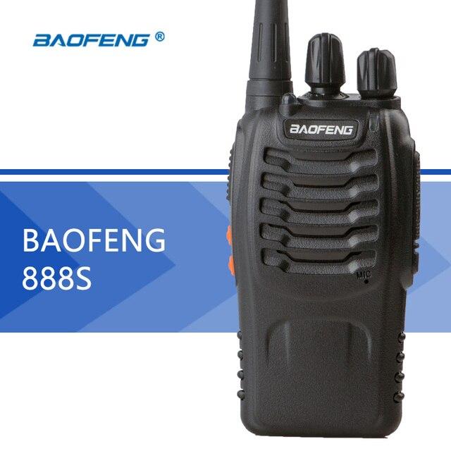 Baofeng BF-888S Walkie Talkie Baofeng 888 s Портативный CB Радио 5 КАНАЛОВ Вт UHF 400-470 МГц Ручной Два двухстороннее Радио для Охоты Радио