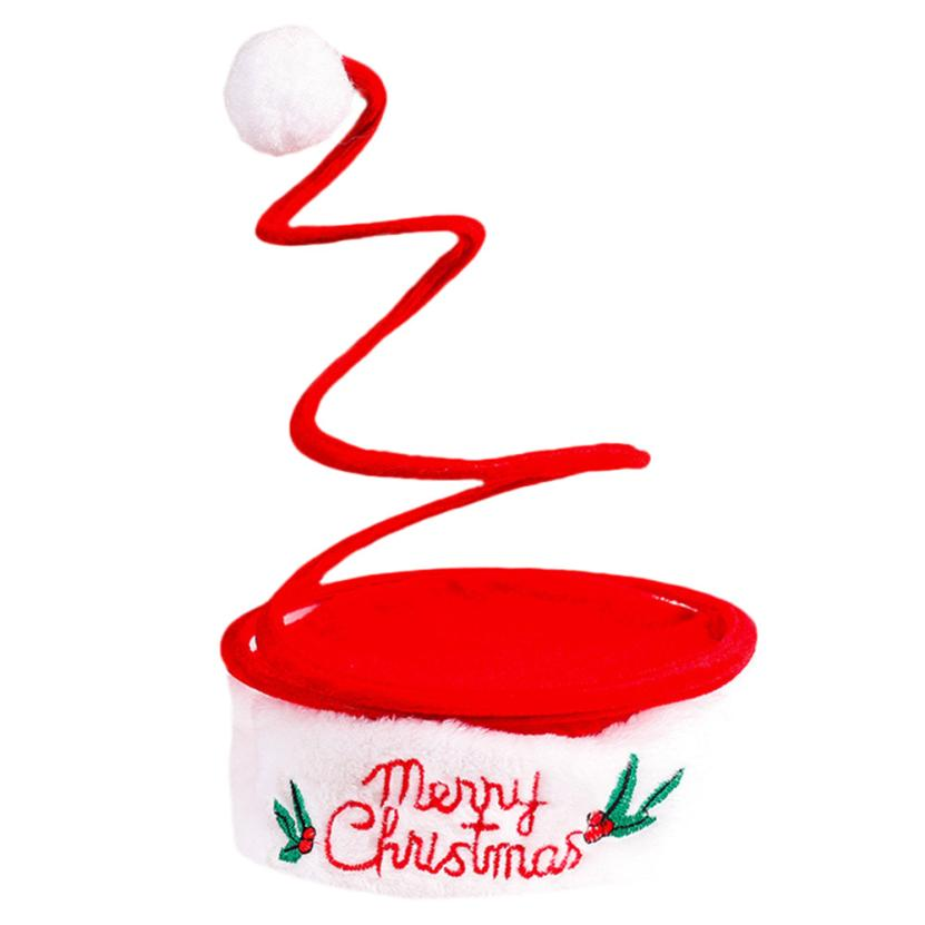 Baby Hat Kids Girls Boys Adult Christmas Cap Santa Novelty Hat for Christmas Party Perfect Gift To Children #20