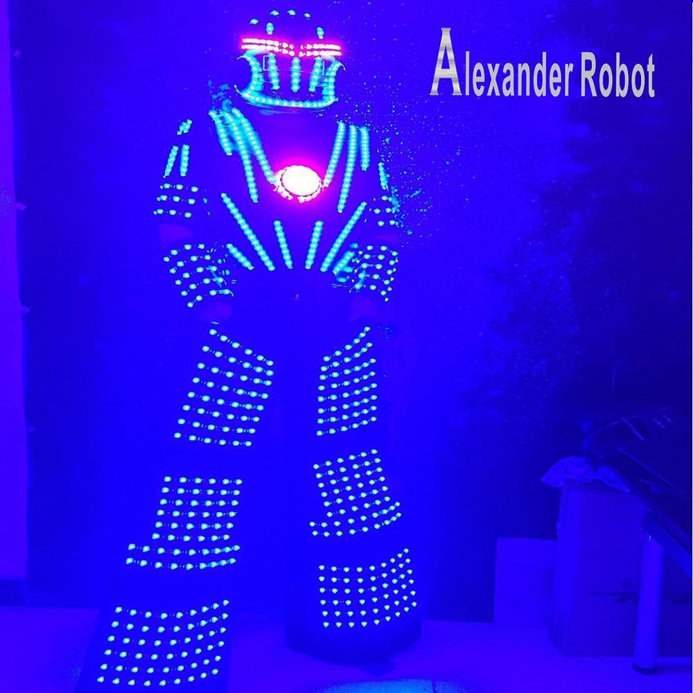 Alexander robot/Costume de Costume de robot de LED/costumes de vêtements de LED/costumes de Robot de LED