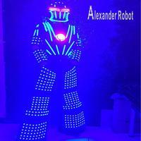 Alexander robot /LED robot suit Costume /LED Clothing suits/ LED Robot suits
