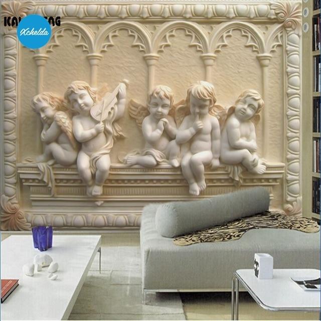 Foto Tapete 3D Wand Wandbilder Benutzerdefinierte Malerei Europäischen  Winkel Design Hintergrund Schlafzimmer Wohnzimmer Wandbild Papel De