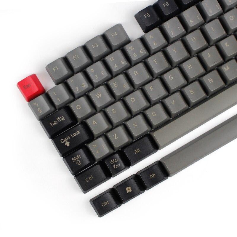 все цены на  top printed pbt keycaps Nordic layout  iso oem profile for usb gaming mechanical keyboard  онлайн