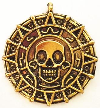 Pirates Of The Caribbean Numismatic Coins Home Accessories Nostalgic Souvenir Russian Ancient Coins