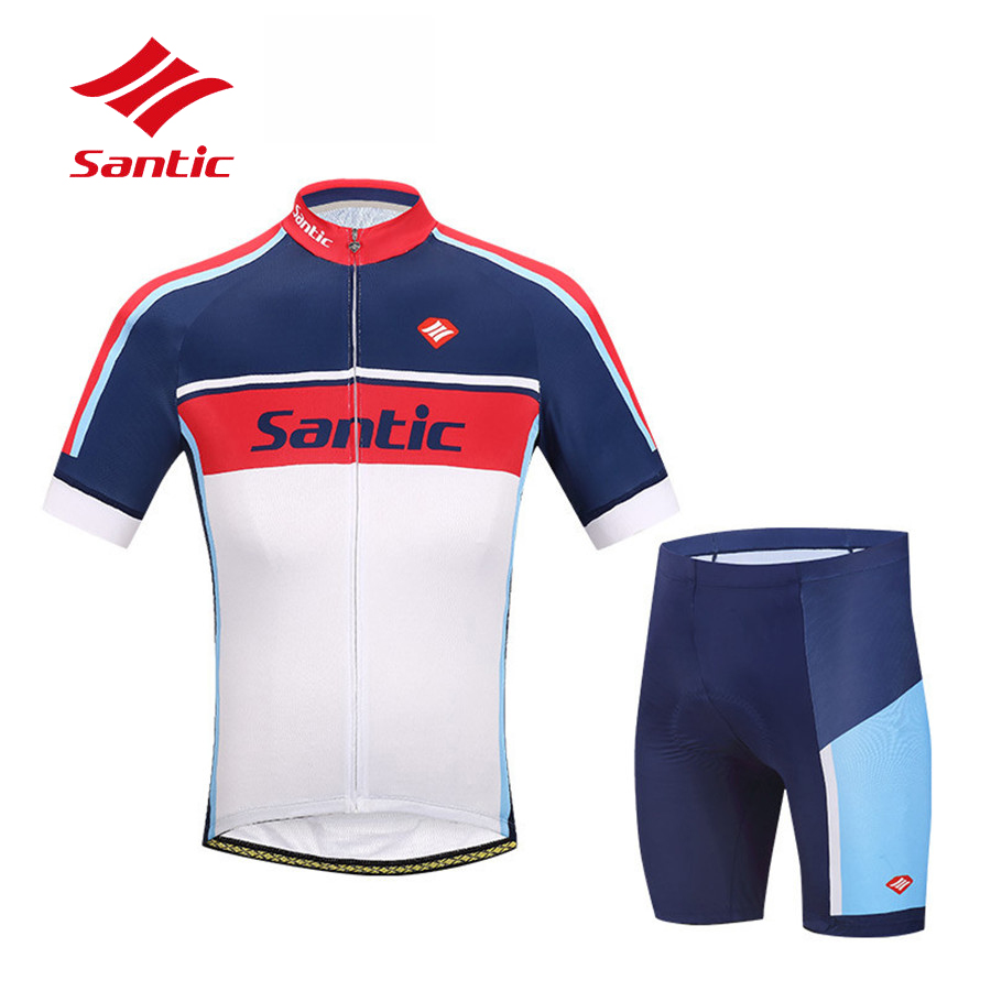 Santic Cycling Jersey 2018 Men MTB Road Bicycle Bike Jersey Quick Dry Downhill Cycling Clothing Ropa Maillot Ciclismo Hombre spakct men cycling clothing quick dry racing bike jersey bicycle cycle clothes ropa ciclismo cycling jersey page 1