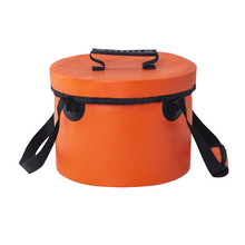 10L-15L Outdoor Sports Water Bag Drifting waterproof bag outdoor fishing camping folding bucket 2019 New Hot Sales