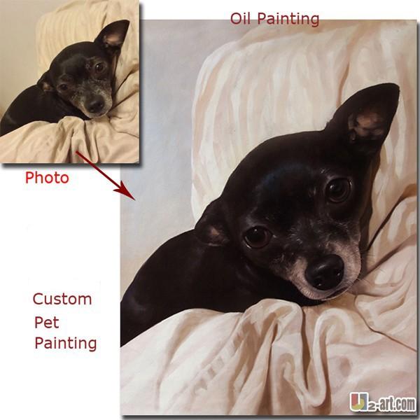 Cusom-pet-dog-oil-painting