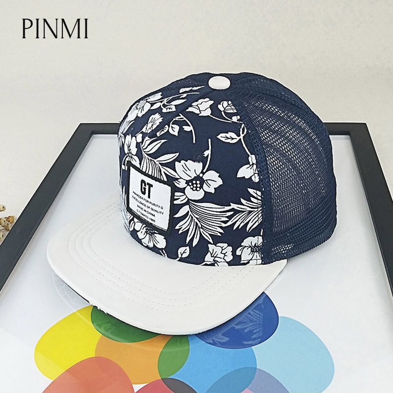 PINMI Summer Mesh Baseball Cap Women 2017 Breathable Snapback Hip Hop Caps Men Embroidered Letter Hats For Men Bone Gorras boapt unisex letter embroidery cotton women hat snapback caps men casual hip hop hats summer retro brand baseball cap female