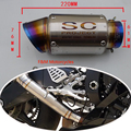 Laser de escrever motocicleta escape modificado para Yamaha R6 2007