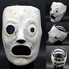 Slipknot Mask Corey Taylor masks Dulex Latex DJ Star Cosplay Halloween Costume Prop for Adult Adjuster