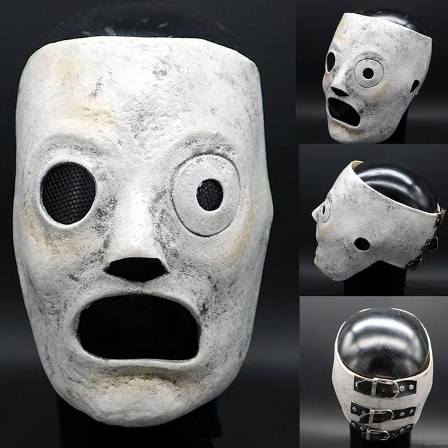 5cf08459d Slipknot Mask Corey Taylor masks Dulex Latex Mask DJ Star Cosplay Halloween  Costume Prop Mask for Adult Adjuster