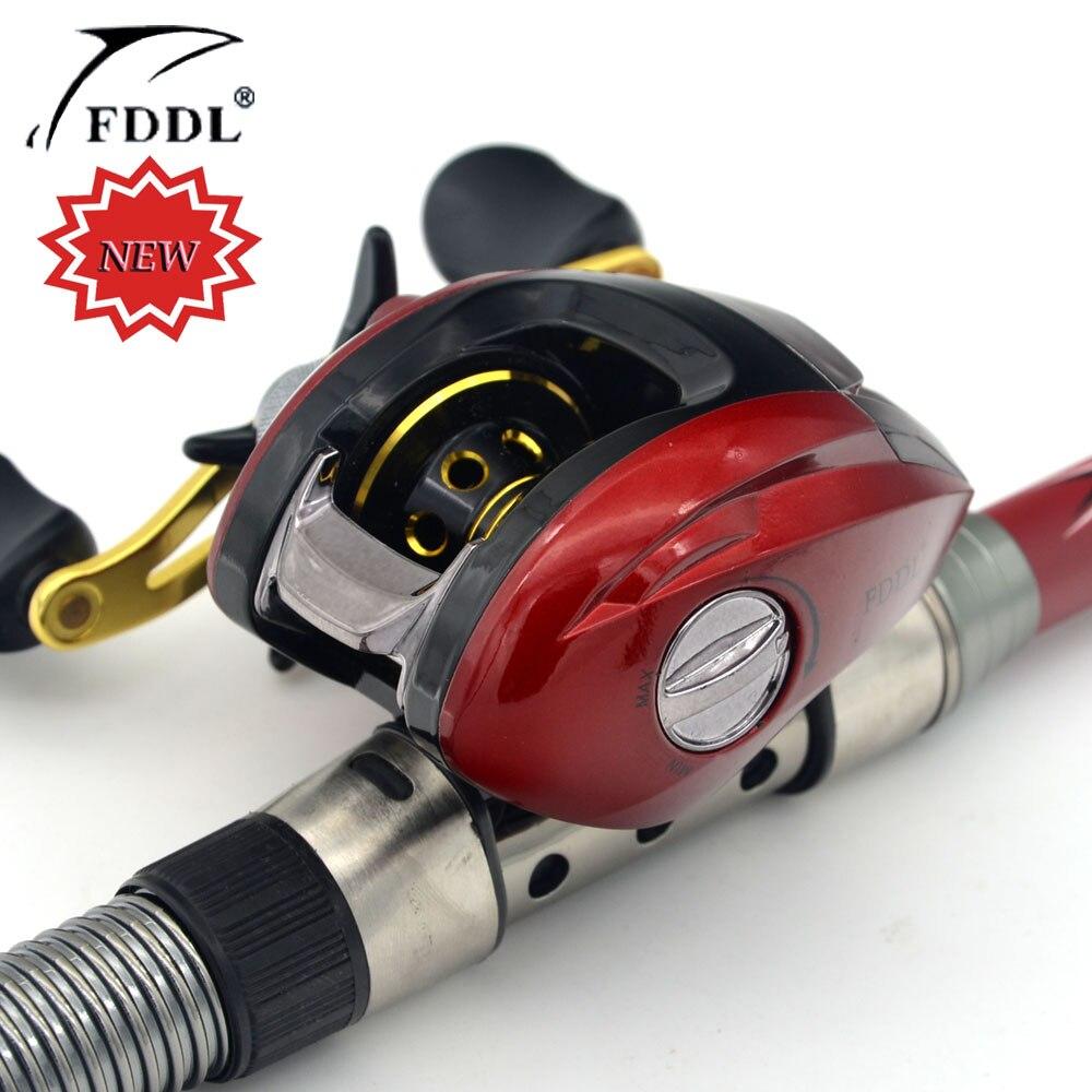 Free Shipping Right or Left Baitcasting Reel 10+1BBs High Speed 6.3:1 Bait Casting Fishing Reel Magnetic Brake Carp Fishing Gear