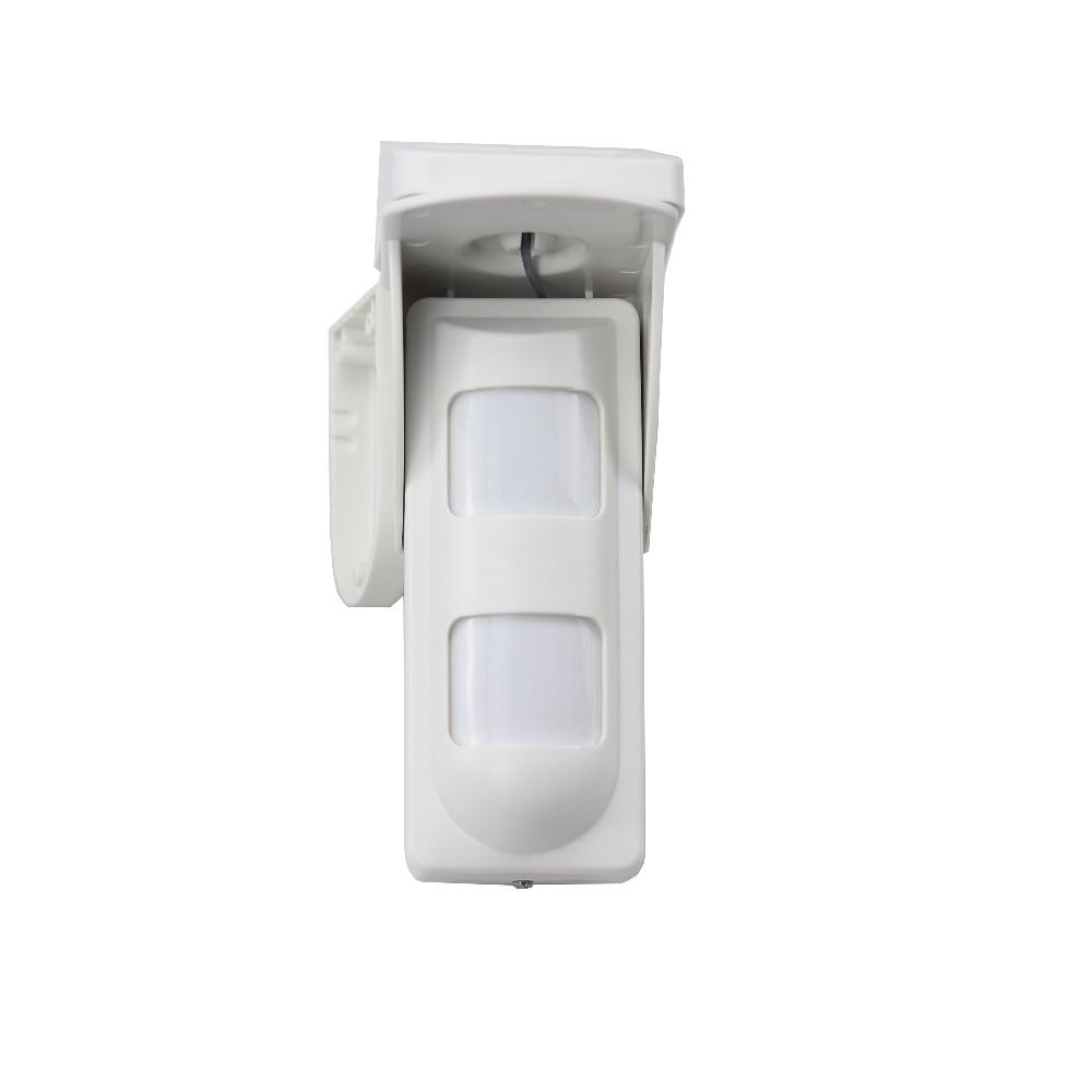 GZGMET Solar Power 433MHZ motion Sensor pir outdoor waterproof pet immune alarm detector for home security