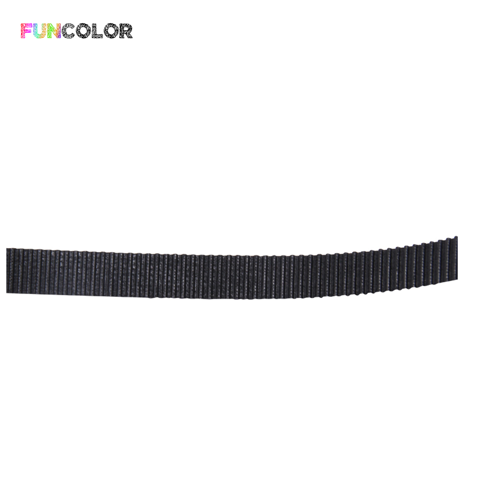 5 10 50m GT2 Timing Belt Width 10mm for 3D Printer 2GT Open Belt Transmission Belt GT2 Picth 2mm Black Belt Parts Dropshipping in 3D Printer Parts Accessories from Computer Office