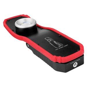 Image 5 - Lanterna led magnética recarregável usb, 2 modos, cob, luz de trabalho portátil, gancho, pendurada, trabalho, luz externa, acampamento