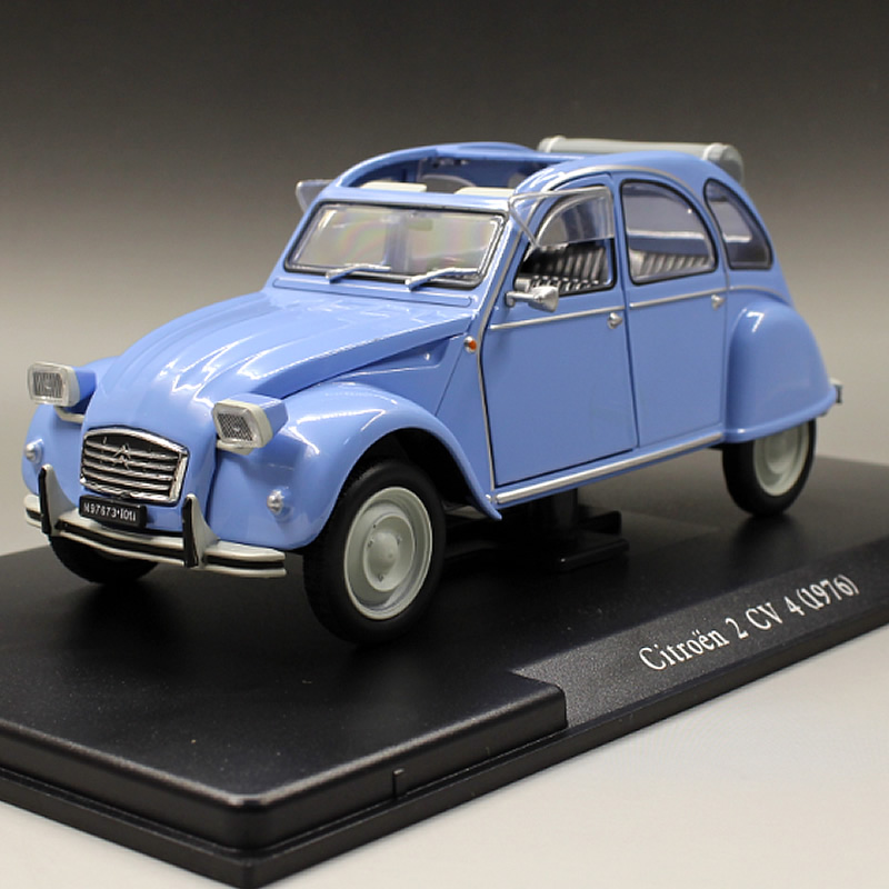white box 1 24 1976 citroen 2 cv 4 classic boutique alloy