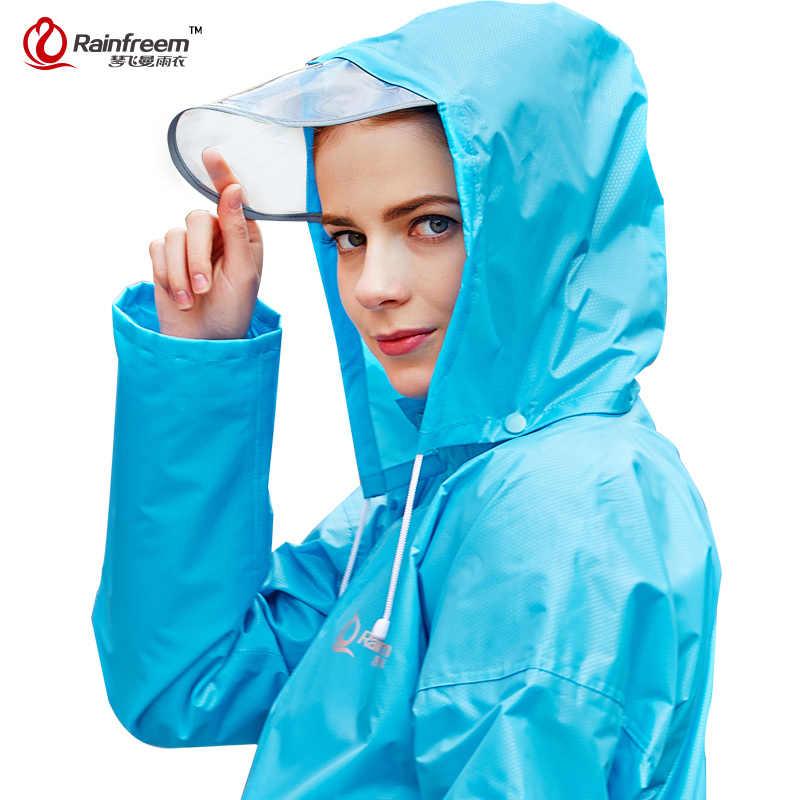 Chubasquero de gran oferta para motocicleta, Poncho con capucha, ropa de lluvia para montar en motocicleta, S-6XL para senderismo, pesca, equipo de lluvia