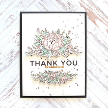 YaMinSanNiO Blooming Flower Stamps and Dies New 2019 Scrapbooking Card Making Metal Cutting Thank You Die Cut