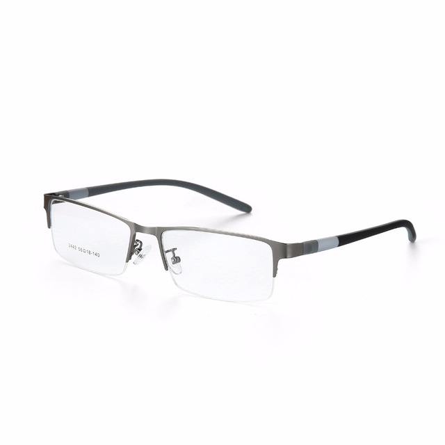 071880de79 2019 Fashion Titanium rimless eyeglasses frame Brand designer Men Glasses  suit reading glasses optical prescpriton lenses