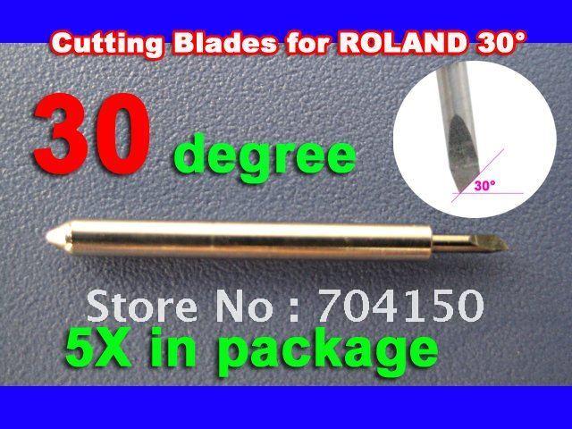 5/pc 30 blade Роланд foison liyu Китай винил войти плоттеров резак, надписи нож