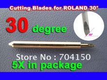 цены на 5/pc 30 BLADE Roland Foison Liyu China Vinyl Sign Plotter cutter ,Lettering knife  в интернет-магазинах