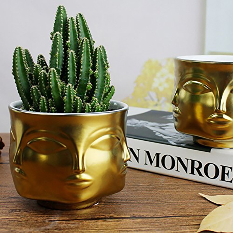 Nordic Ceramic Plant Pots Creative Art