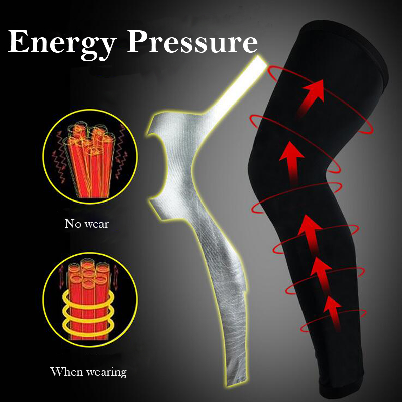 Compression Running Leggings - Football Shinguard Cycling Leg Warmers 2