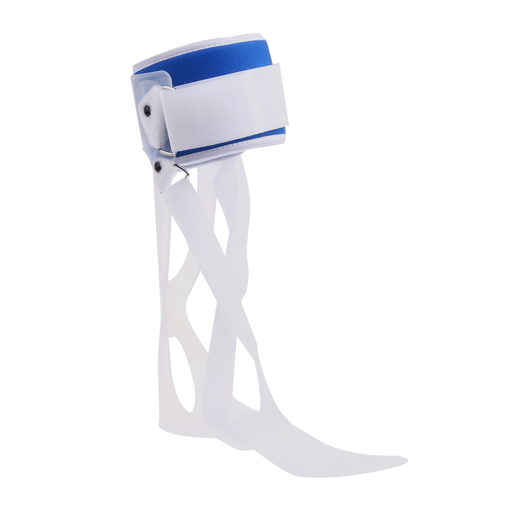 Adjustable Foot Drop Brace Orthosis Correction Ankle Support Stabilizer Left/Right Foot