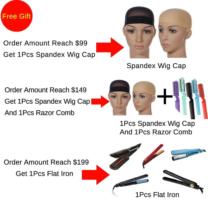 Hot Beauty Hair Wain Color Peruvian Straight Hair Bundles 10-26 inch - Rambut manusia (untuk hitam) - Foto 5