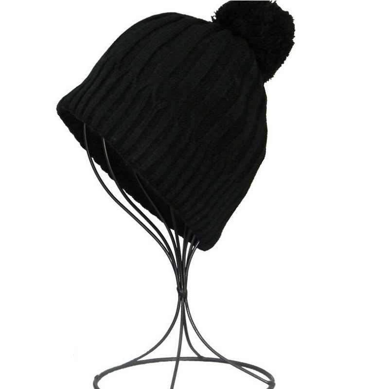 4 สีเด็กหญิงถักหมวกเด็กเด็กฤดูใบไม้ร่วงฤดูหนาวหมวก Bonnet Enfant เด็ก Muts KF088