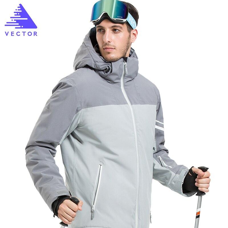 Veste synthétique de Ski Extra épaisse capuche chaude Sport de neige hommes manteau d'hiver femmes Ski Snowboard vêtements de plein air imperméable 2019 nouveau - 3