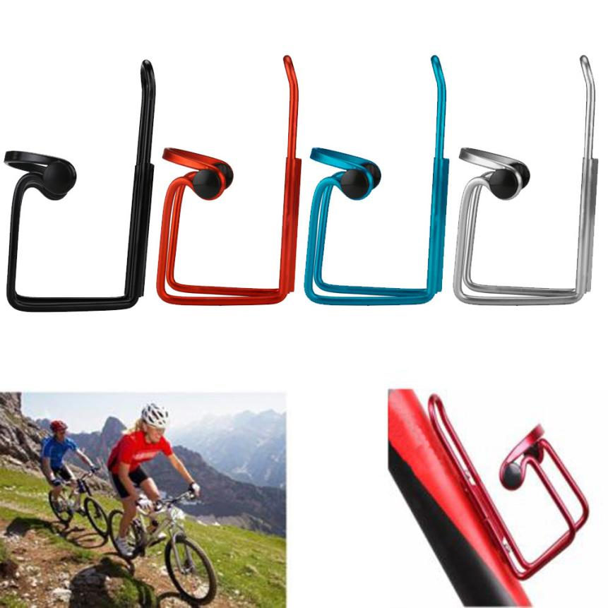 Aluminum Alloy Bike Bicycle Cycling Drink Water Bottle Rack Holder Cage Bracket
