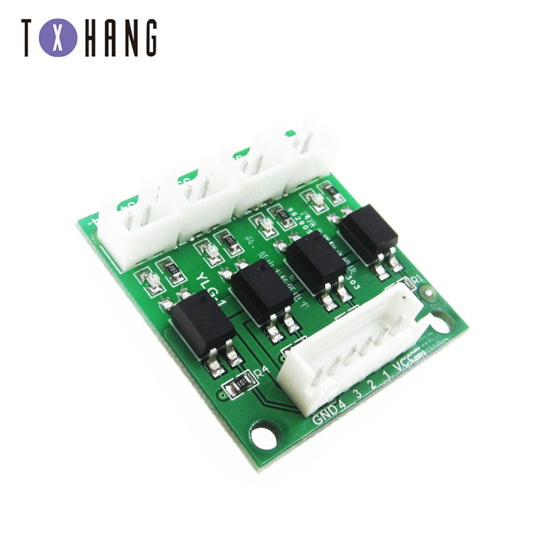 3//4 Channel Optocoupler Opticial Coupler Isolation Opto-isolator Module TLP281