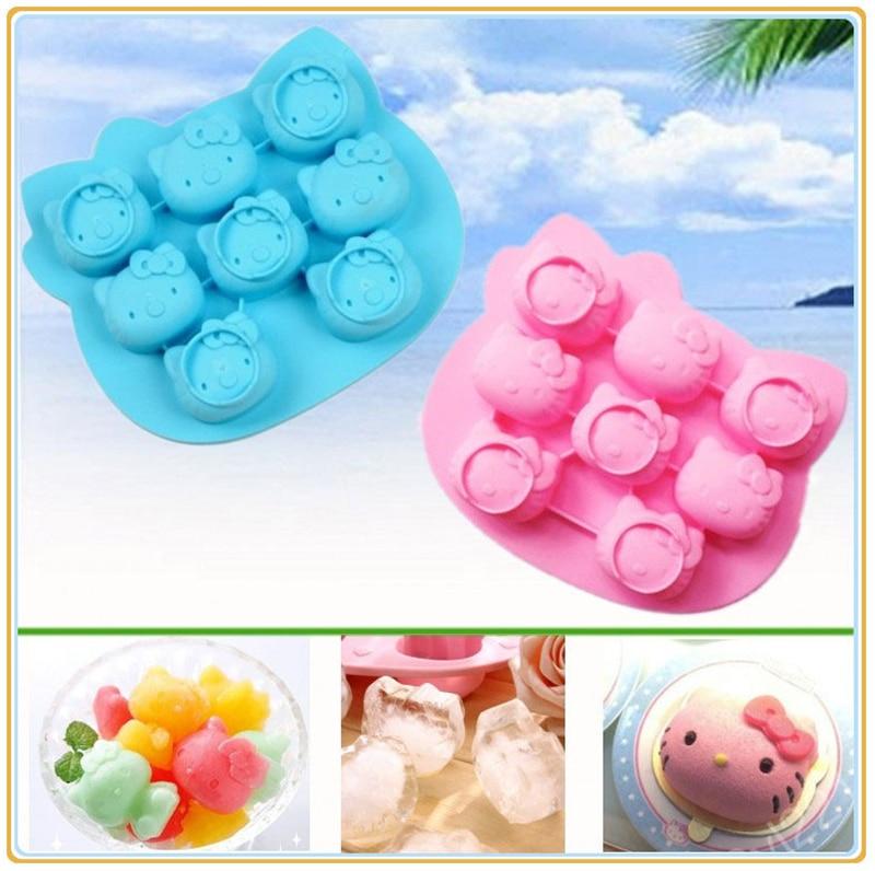 6 Grids Silicone 3D Egg Oval Shape Soap Mould Jelly Maker Cake Mold Maker