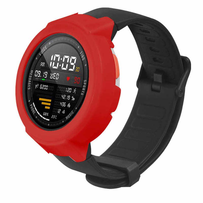 Funda protectora para reloj carcasa marco Delgado PC funda para Xiaomi Huami Amazfit Verge Watch JR ofertas