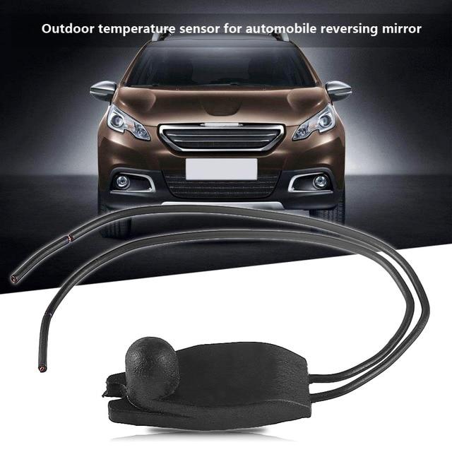 Sensor exterior de coche Sensor de temperatura de aire de tránsito ambiental para PEUGEOT 206 207 208 306 307 308 405 407 605 coche-estilo
