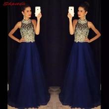 חיל הים כחול אמא של שמלות הכלה לחתונה בתוספת גודל כלה קו חרוזים ערב שמלות חתן הסנדקית ארוחת ערב שמלות